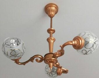 Bronze colour vintage chandlier