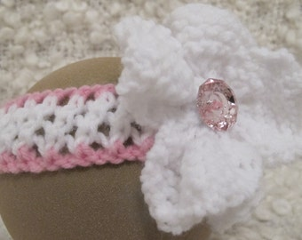 Hand Knitted Baby Headband