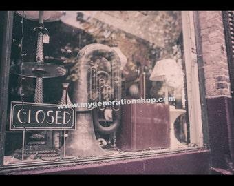 Music Store Window Poster