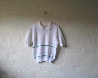 cute striped vintage polo