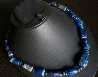 ON SALE Stylish Lapis Lazuli Necklace