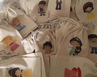 Disney Princesses favor bags