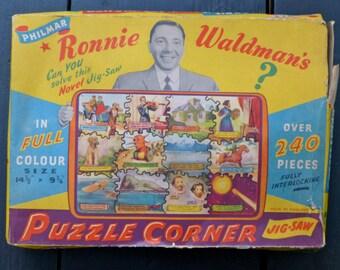 Philmar Ronnie Waldman's Puzzle Corner Jigsaw Puzzle 1940s