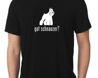 Got Schnauzer T-Shirt v2 T1024