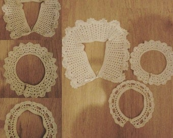 Crochet Peterpan Collar