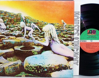 "Led Zeppelin ""Houses of The Holy"" 1973 LP Atlantic Records Very Nice Record"