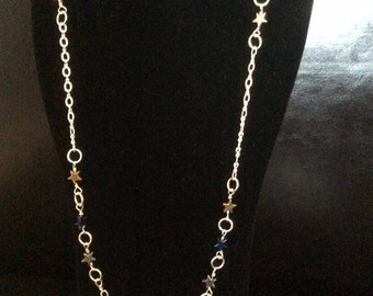 Necklace longer length 'Starlight'