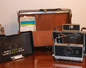 Sale! Vintage Polaroid, Polaroid 225 Land Camera