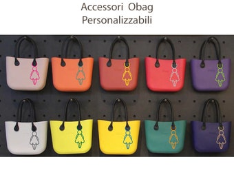 woman silhouette o'bag accessories