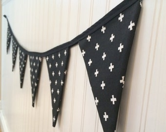Custom 7 inch fabric flag bunting