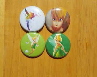 """Tinkerbell pin buttons set 1"""""""