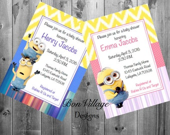 High quality images for despicable me baby shower invitations 30love9 download hd wallpapers despicable me baby shower invitations filmwisefo