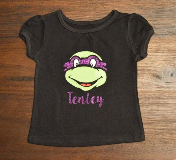 Ninja Turtle Shirt Girl Ninja Turtle Shirt