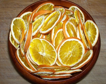 Dried/Dehydrated DWARF NAVEL ORANGE slices ***12 Slices***
