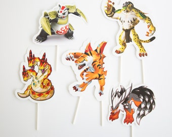 Invizimals Cake toppers (big size)