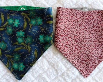 Bandana Bib Set of 2 Gender Neutral