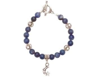 Iolite Celestial Bracelet