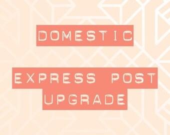 Domestic express post upgrade