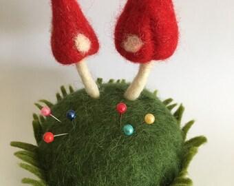 Mini Mush Pincushion