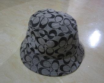 Vintage Coach Bucket Hat Made in USA Vintage Coach