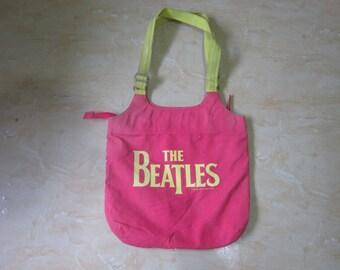 vintage The Beatles Handbag Vintage Beatles Apple Corps Beatles Product by Ngene