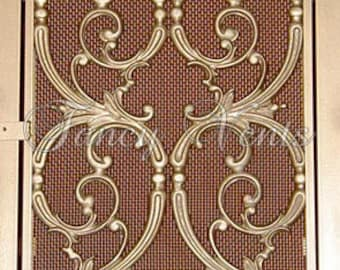 Decorative Cast Iron Vent Cover - 20 x 25 Katherine