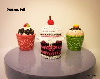 Pattern - Cupcake Pot [EN-FR]