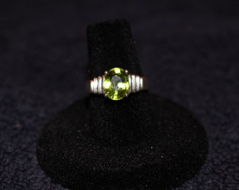 Sparkling Green Peridot