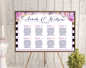 Find your Seat Chart, Printable Wedding Seating Chart, Wedding Seating Poster, Wedding Seating Sign, Wedding Seating Board WD79 WC70