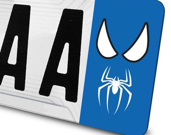 Sticker Spider Man for number plates