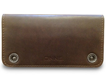 iPhone 6 wallet / iPhone 6 wallet case / Smartphone wallet / Leather wallet -- LIMITED EDITION (#9) -- Brown