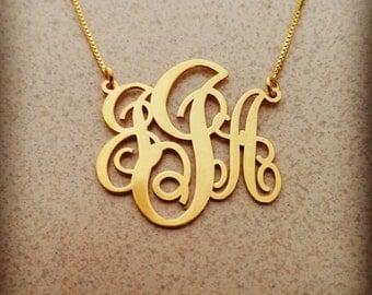 10k monogram necklace 10 k monogram necklace 10k gold monogram necklace name monogram necklace 10 carat