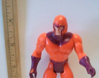 1984 Marvel Comics Secret Wars Mattel Magneto X-Men Villain Loose Action Figure No Accs Great Birthday Cake Toppers