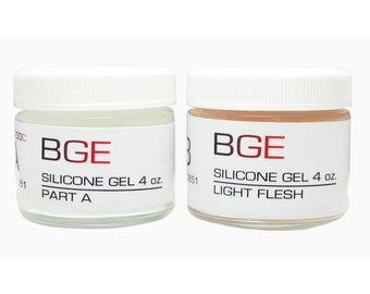 BGE Light Flesh Special FX Silicone Gel for cuts, burns and injuries injuries.