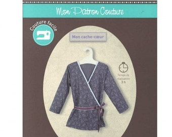 P10 - FROU FROU - Sewing pattern - Wrap-over top.