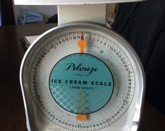 Vintag Pelouze Ice Cream Scale 5 Pound Model Y-80