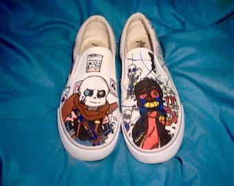 custom slip on shoes
