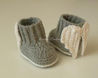 Crochet wings