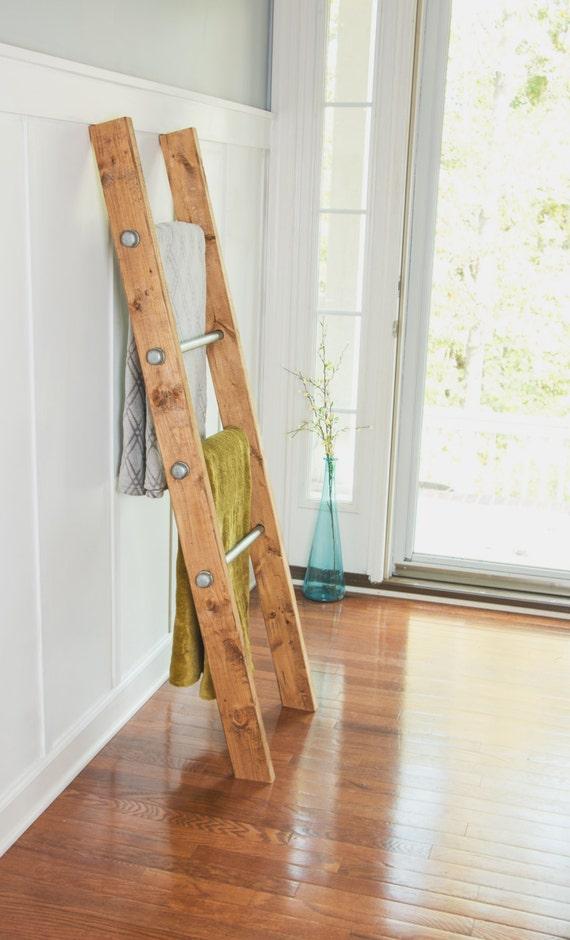 Wooden Ladder Industrial Pipe Blanket Ladder Industrial
