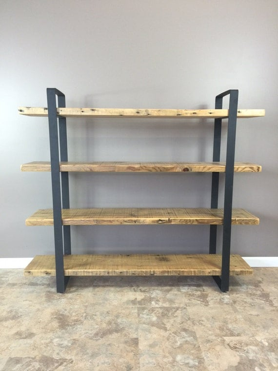 Barnwood Shelves For Sale Reclaimed Wood Shelf Shelving Unit With 4 By Barnxo On Etsy