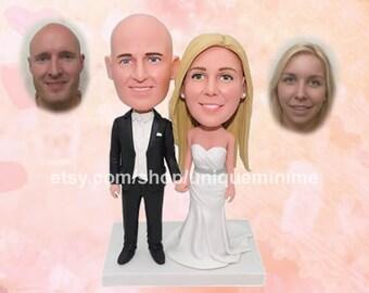 best wedding gift, groom gift for bride, groomsmen gift bobblehead doll, wedding gift, top husband gift, funny gift, groomsman