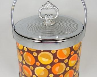 SALE!! Groovy 1970's Ice Bucket
