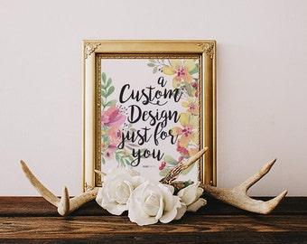 Custom Hand Lettering