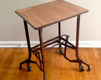 Exceptional Toledo Metal Furniture Typewriter Table