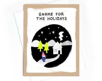 Card // Gnome for the Holidays