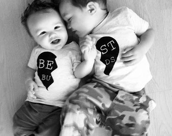 Best friends shirt, Valentines, baby boy shirt, boy shirts, boy clothes, mommy and me sets, boy gift, boy tee, mommy and me, baby clothes