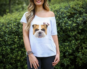Georgia Bulldogs Sic 'Em T-Shirt Ladies, Baby, Toddler and Kids Sizing
