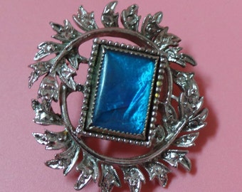 By Exquisite Butterfly Wing BROOCH Signed