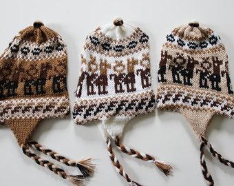SALE - Peruvian Alpaca Wool Hat