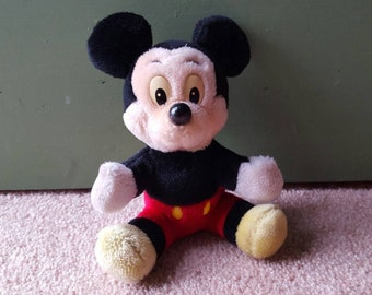 Vintage Mickey Mouse plush